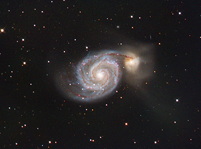 M 51 - The Whirlpool Galaxy